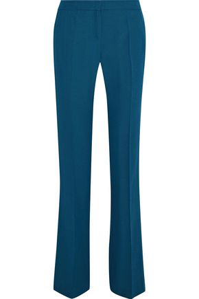 IRIS & INK Patti satin-crepe bootcut pants