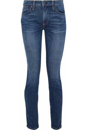AO.LA by ALICE + OLIVIA Good studded mid-rise skinny jeans