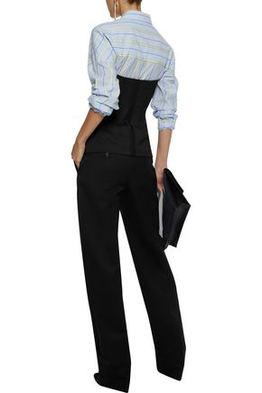 MAISON MARGIELA Wool-twill straight-leg pants