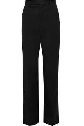 MAISON MARGIELA Wool-twill straight-leg pants