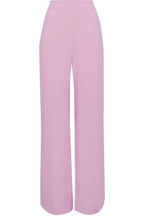 BRANDON MAXWELL Crepe wide-leg pants