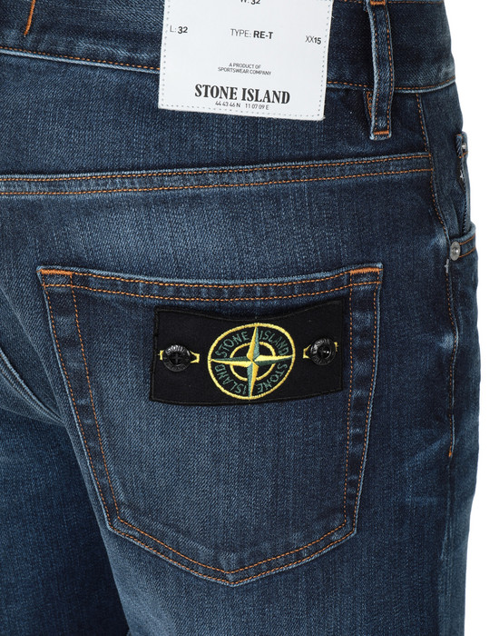 13231883dn - TROUSERS - 5 POCKETS STONE ISLAND