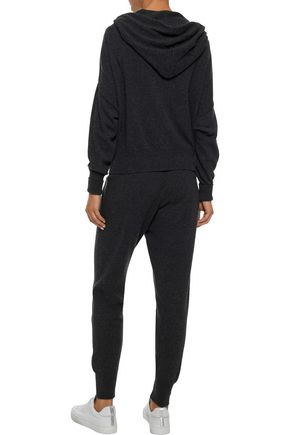 IRIS & INK Albie cashmere and wool-blend track pants