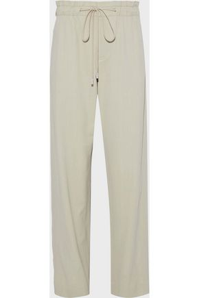 VINCE. Twill straight-leg pants