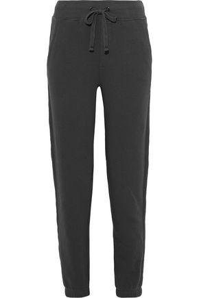 VINCE. Cotton-blend terry track pants