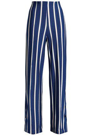 BY MALENE BIRGER Striped jersey wide-leg pants