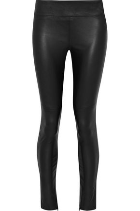 IRIS & INK Daryl leather leggings