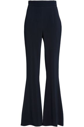 CUSHNIE Crepe flared pants