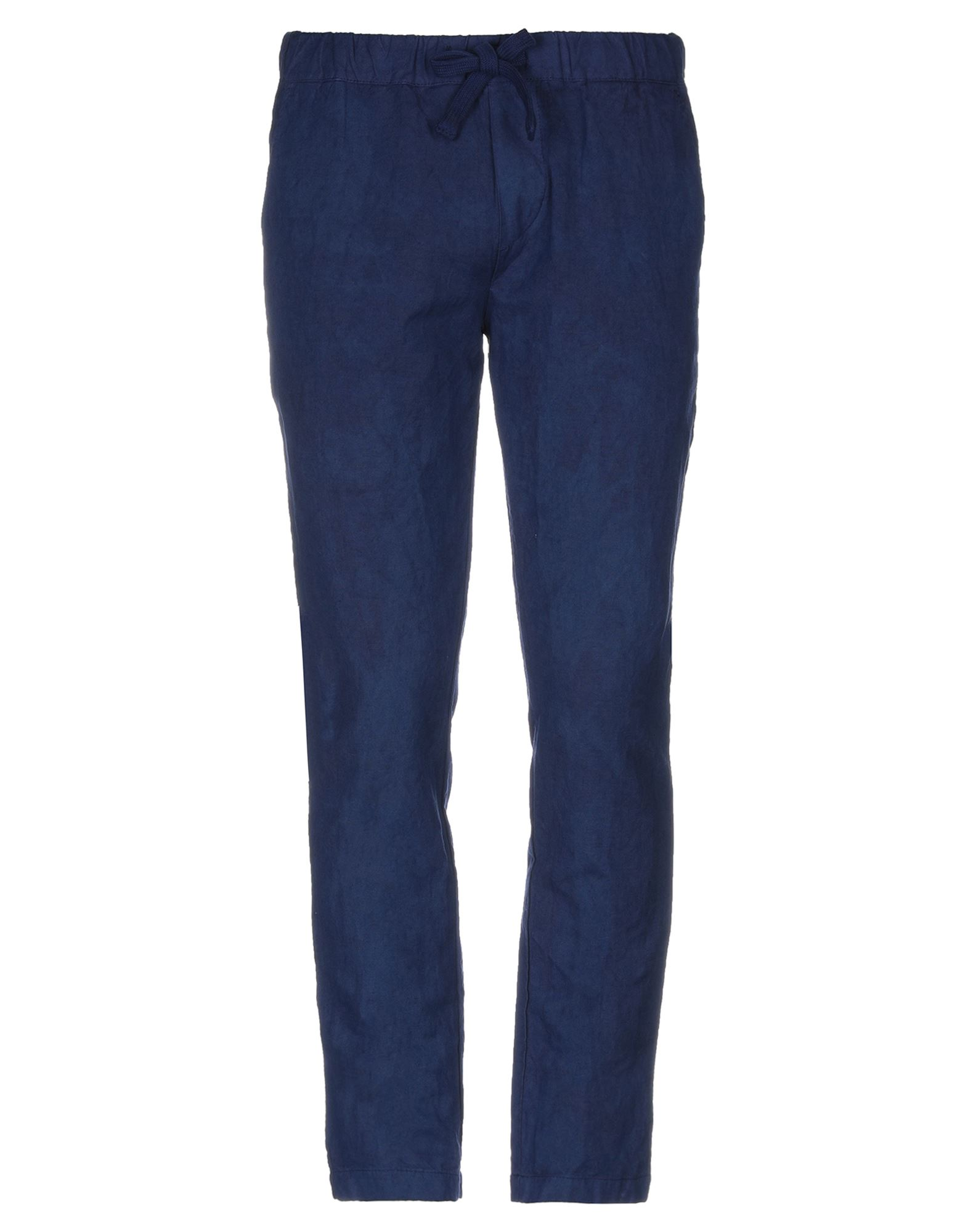 《期間限定セール開催中!》ORIGINAL VINTAGE STYLE メンズ パンツ ブライトブルー 46 コットン 54% / 麻 46%