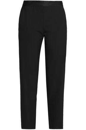 BAILEY 44 Cropped crepe straight-leg pants