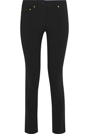 MOSCHINO Crepe skinny pants