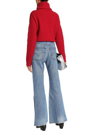 RE/DONE by LEVI'S High-rise flared jeans