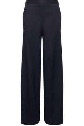 CHALAYAN Layered satin skinny pants
