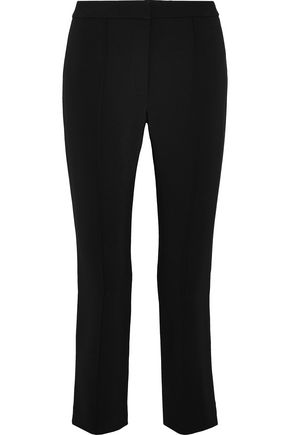 ADAM LIPPES Cropped cady slim-leg pants