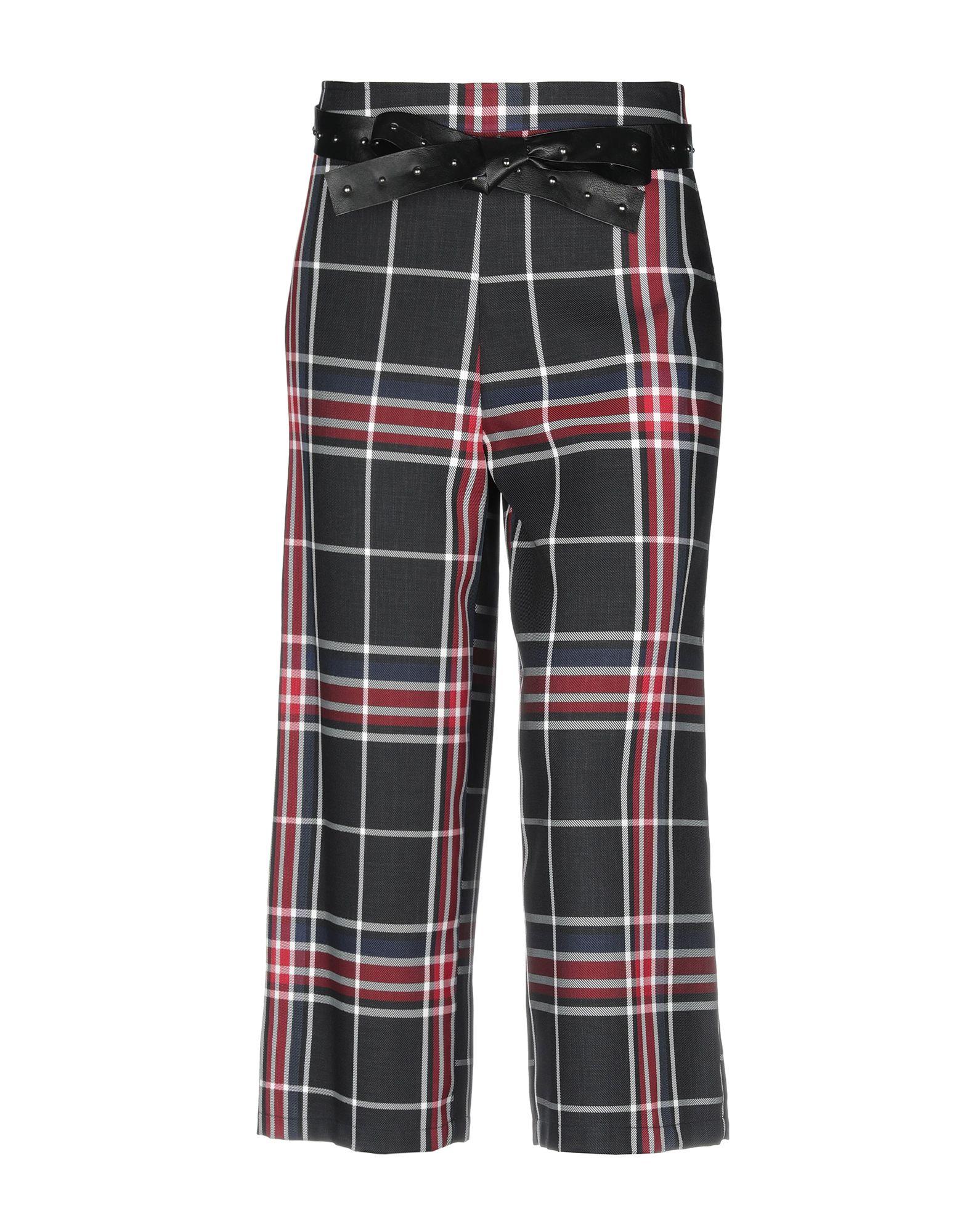 COLLECTION PRIVĒE? Повседневные брюки playboy vip collection повседневные брюки мужские девятки брюки тонкие тонкие фитинги прямые брюки 1904 черный 34