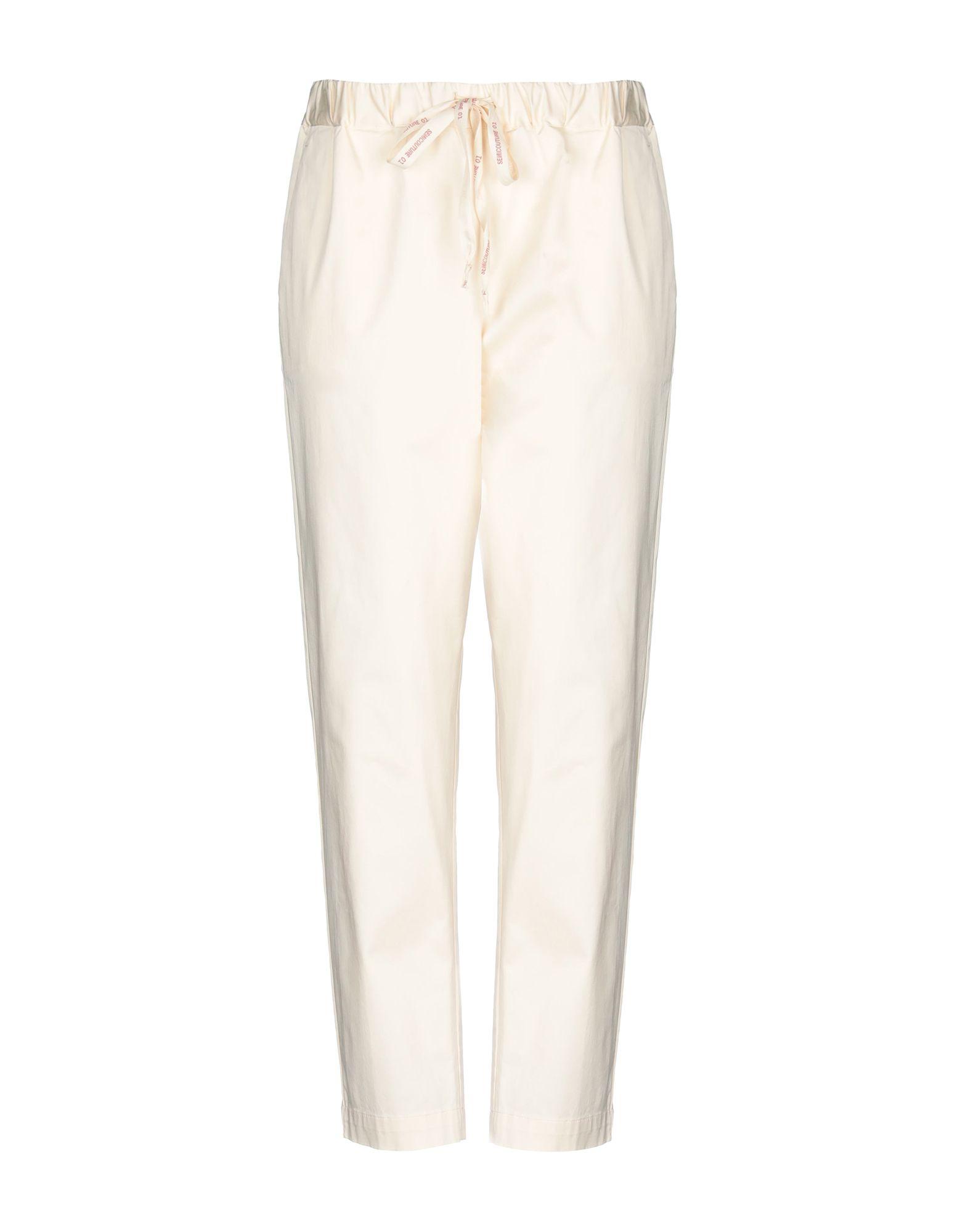 SEMICOUTURE Повседневные брюки semicouture повседневные брюки