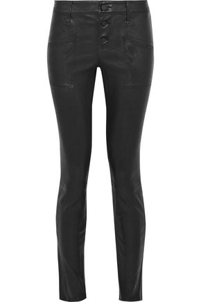 RTA Leather skinny pants