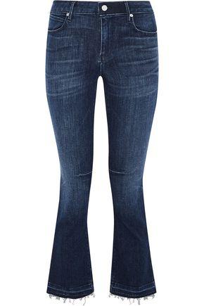 RTA Mid-rise kick-flare jeans
