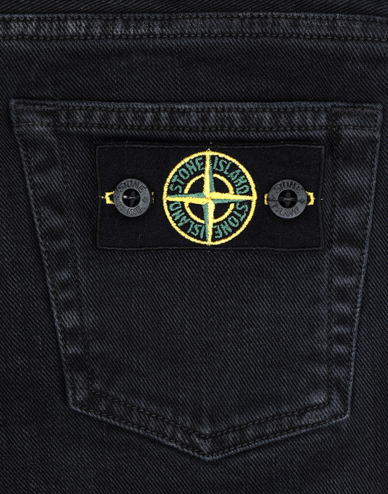 13236739kq - PANTS - 5 POCKETS STONE ISLAND JUNIOR