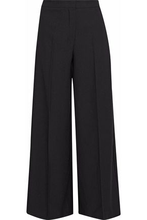 IRIS & INK Saffron crepe wide-leg pants