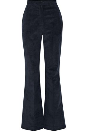 IRIS & INK Shelley cotton-blend corduroy flared pants