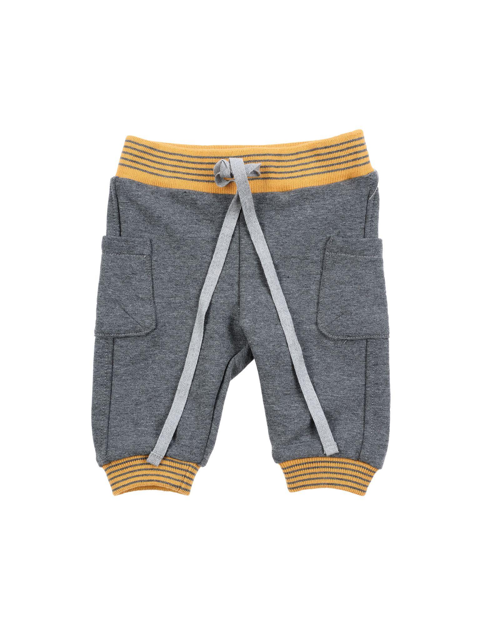 Leo E Lilly Bon Ton Kids' Casual Pants In Gray