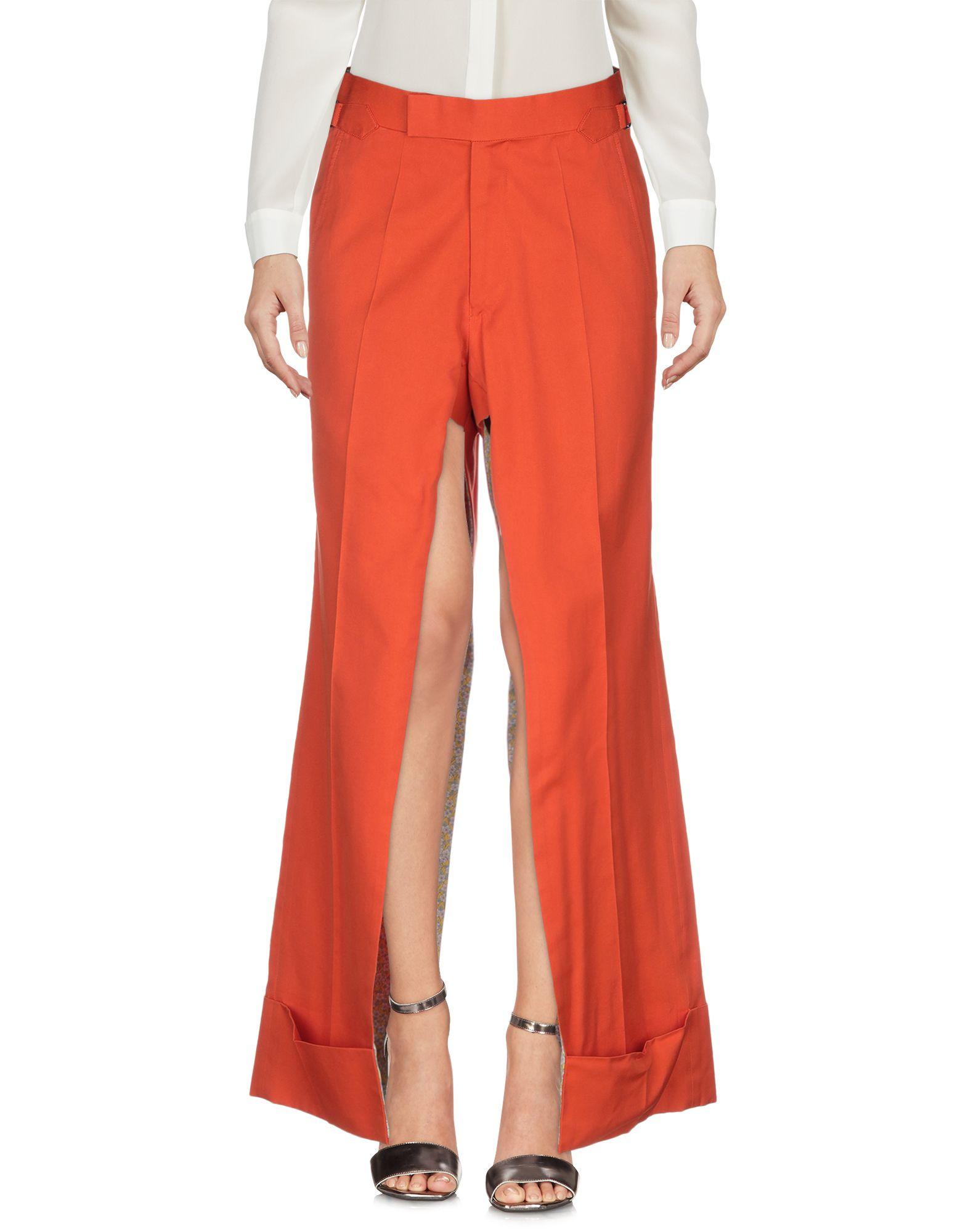 《期間限定セール中》ANDREAS KRONTHALER for VIVIENNE WESTWOOD レディース パンツ オレンジ 2 コットン 77% / シルク 23%