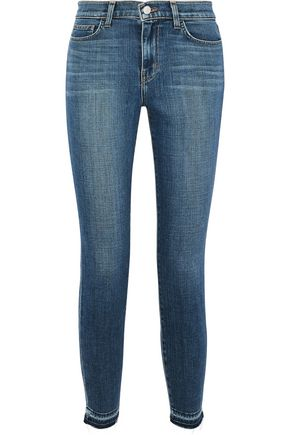 L'AGENCE Laguna French mid-rise skinny jeans