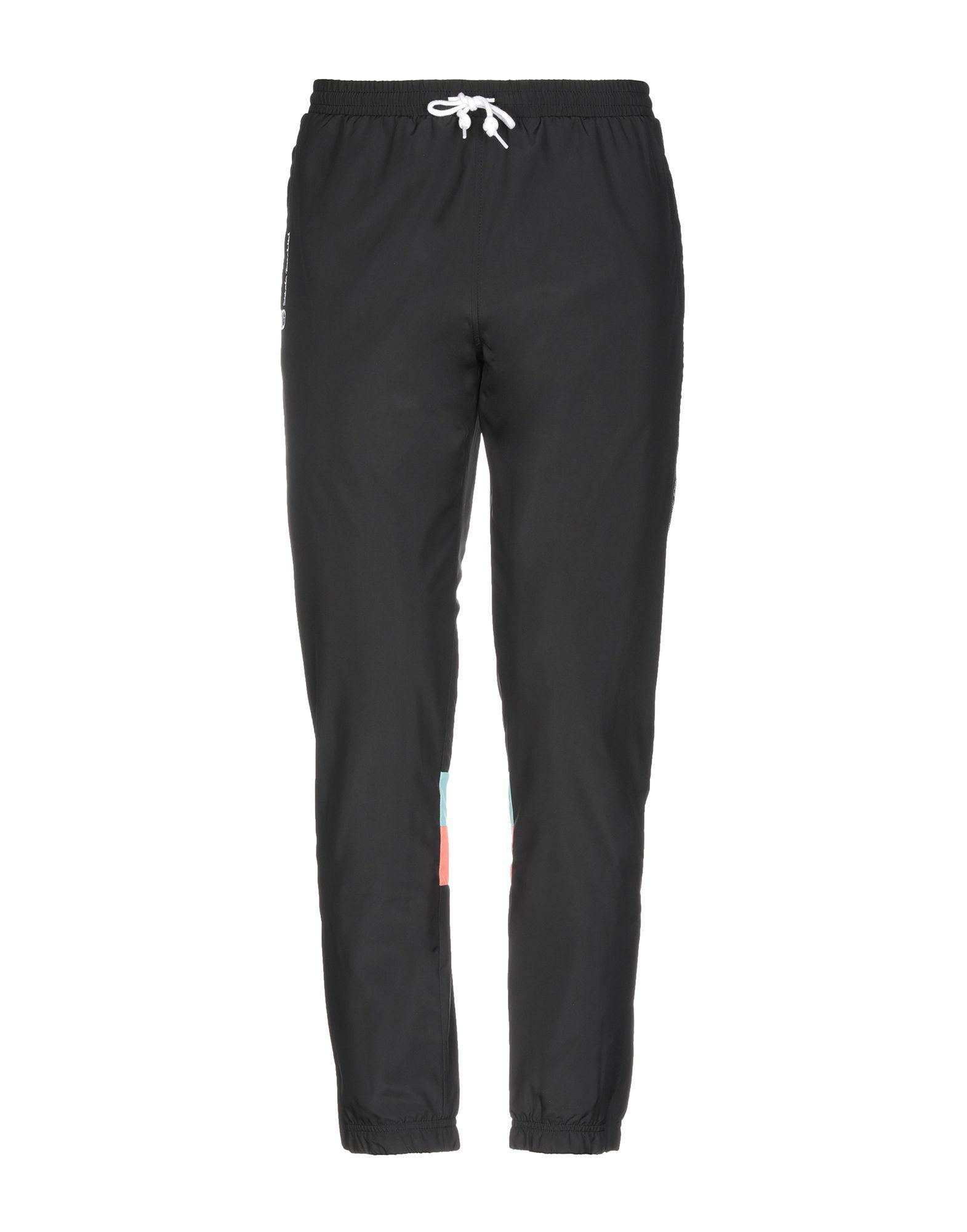 《送料無料》SERGIO TACCHINI メンズ パンツ ブラック S ポリエステル 100%
