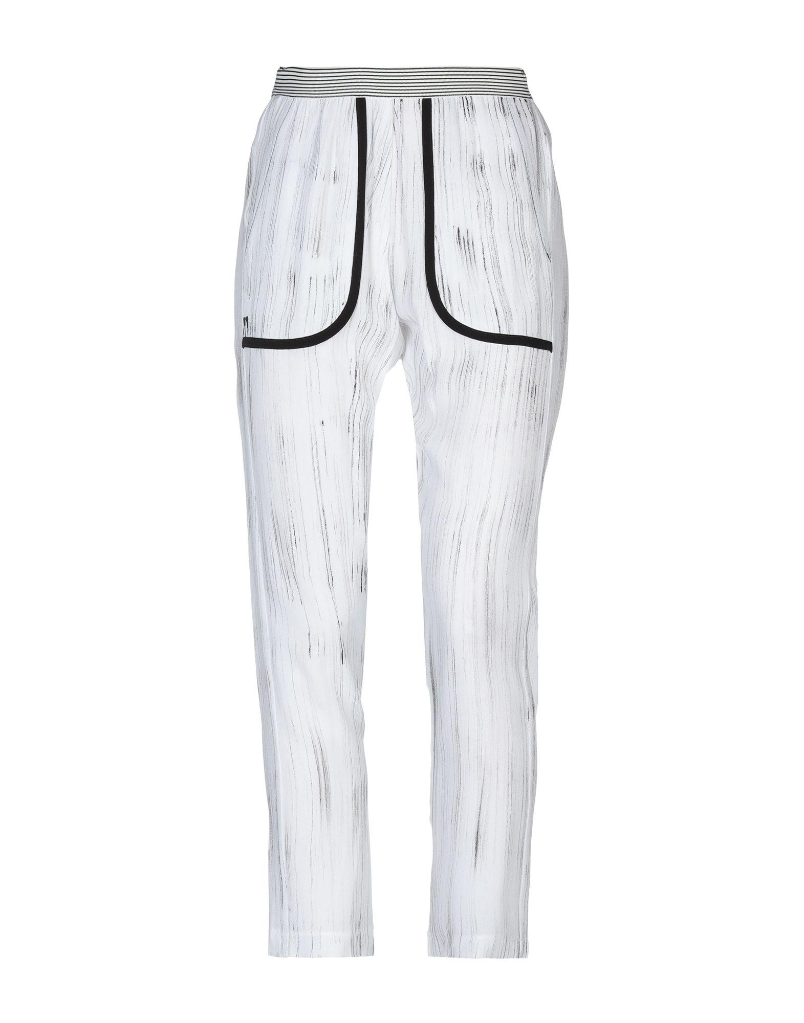 《送料無料》GOTHA レディース パンツ ホワイト 42 レーヨン 100%