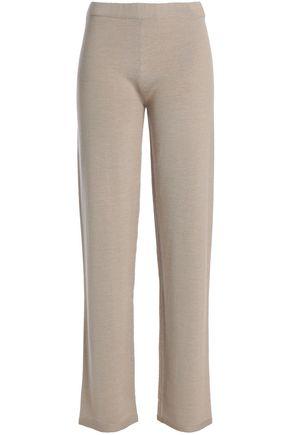 GENTRYPORTOFINO Virgin wool, silk and cashmere straight-leg pants