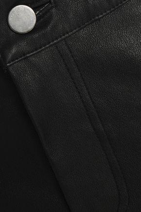 MUUBAA Textured-leather skinny pants
