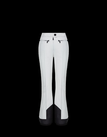 CASUAL TROUSER White Grenoble Skirts and Trousers