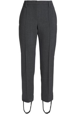 BRUNELLO CUCINELLI Stretch-wool slim-leg stirrup pants