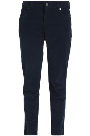 VANESSA BRUNO Cotton-blend corduroy slim-leg pants