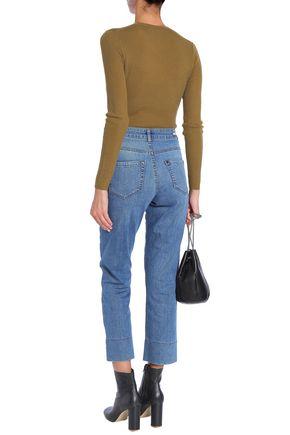 VANESSA BRUNO High-rise straight-leg jeans