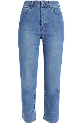 VANESSA BRUNO High-rise straight-leg jeans