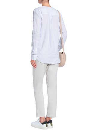JAMES PERSE Cotton-jersey straight-leg pants