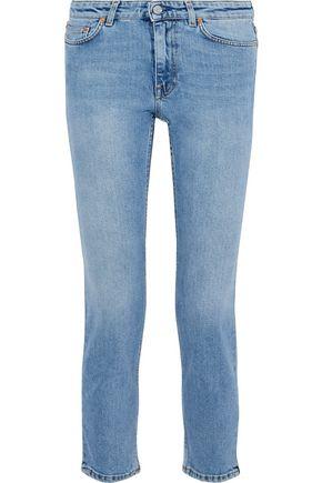 ACNE STUDIOS Cropped mid-rise slim-leg jeans