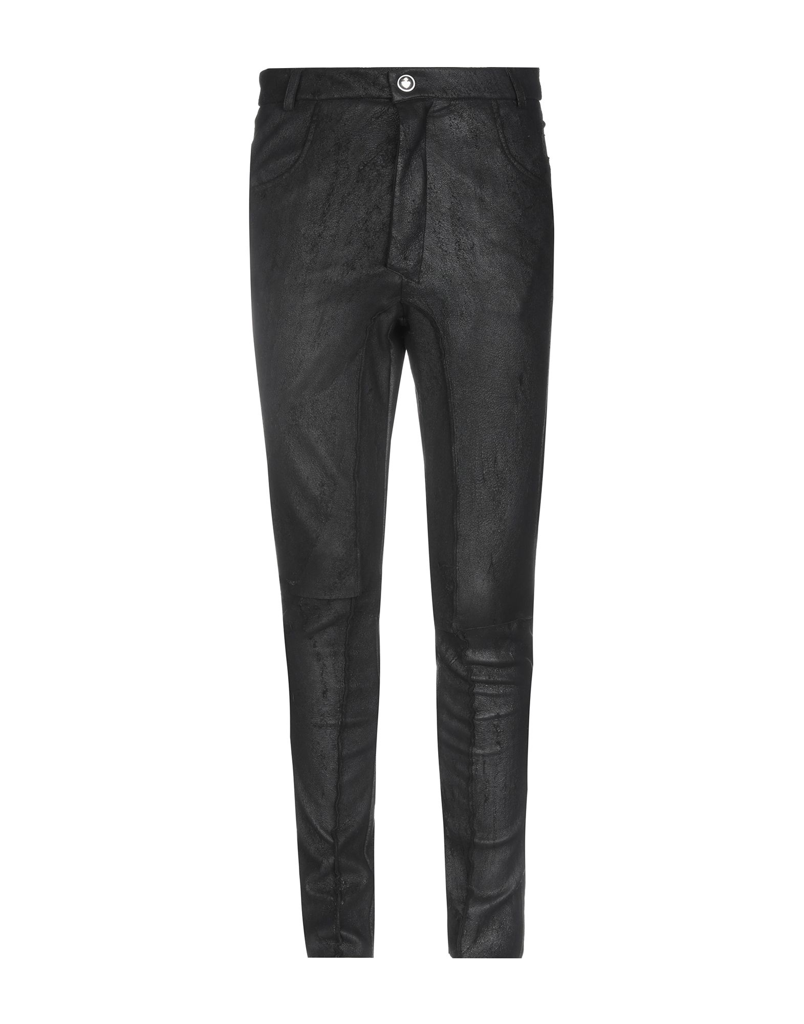 《セール開催中》NOSTRASANTISSIMA メンズ パンツ ブラック 46 革