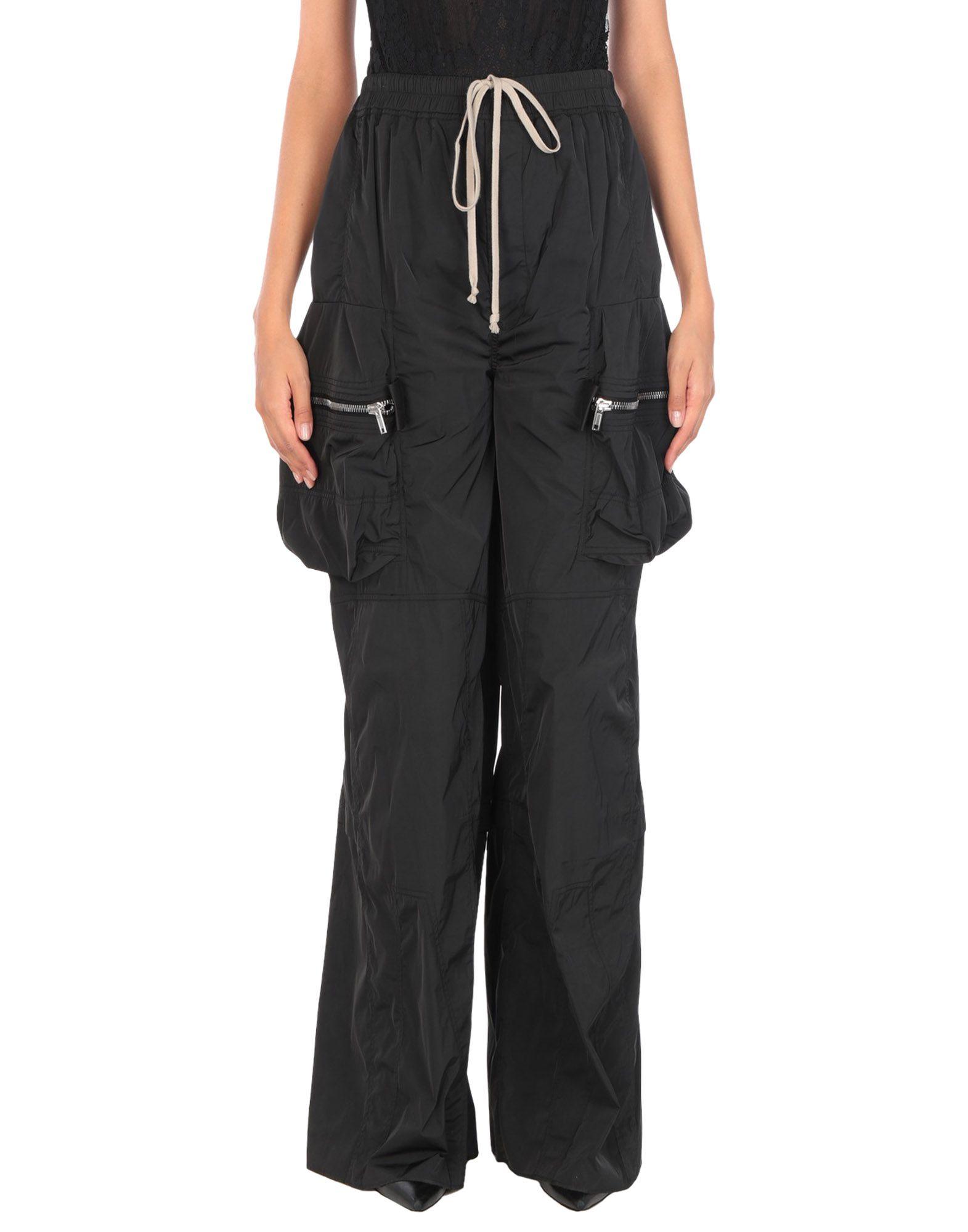 RICK OWENS Повседневные брюки гигиена для мамы libresse гигиенические прокладки natural super с поверхностью сеточка 16 шт