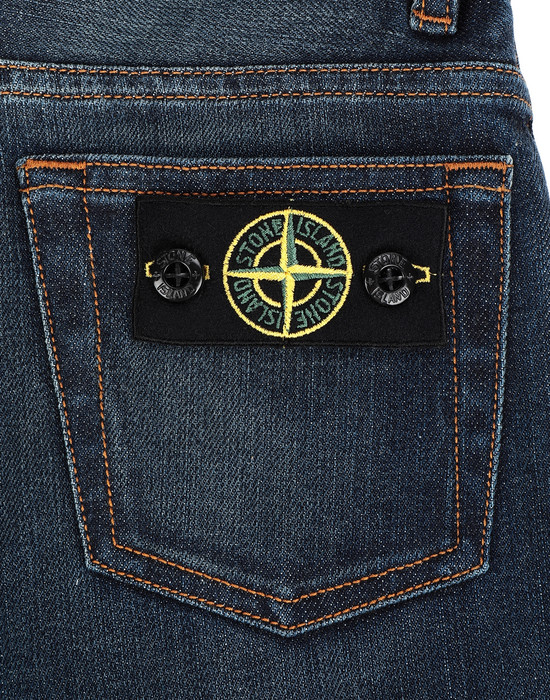 13241166tb - PANTS - 5 POCKETS STONE ISLAND JUNIOR