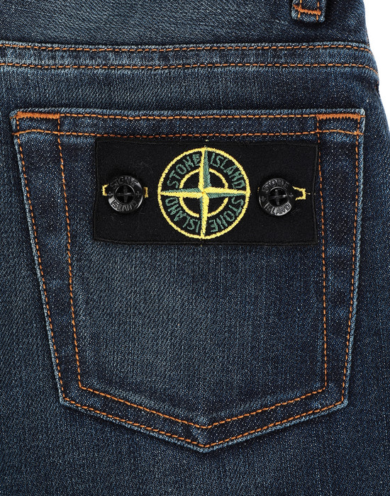 13241178ek - PANTS - 5 POCKETS STONE ISLAND JUNIOR
