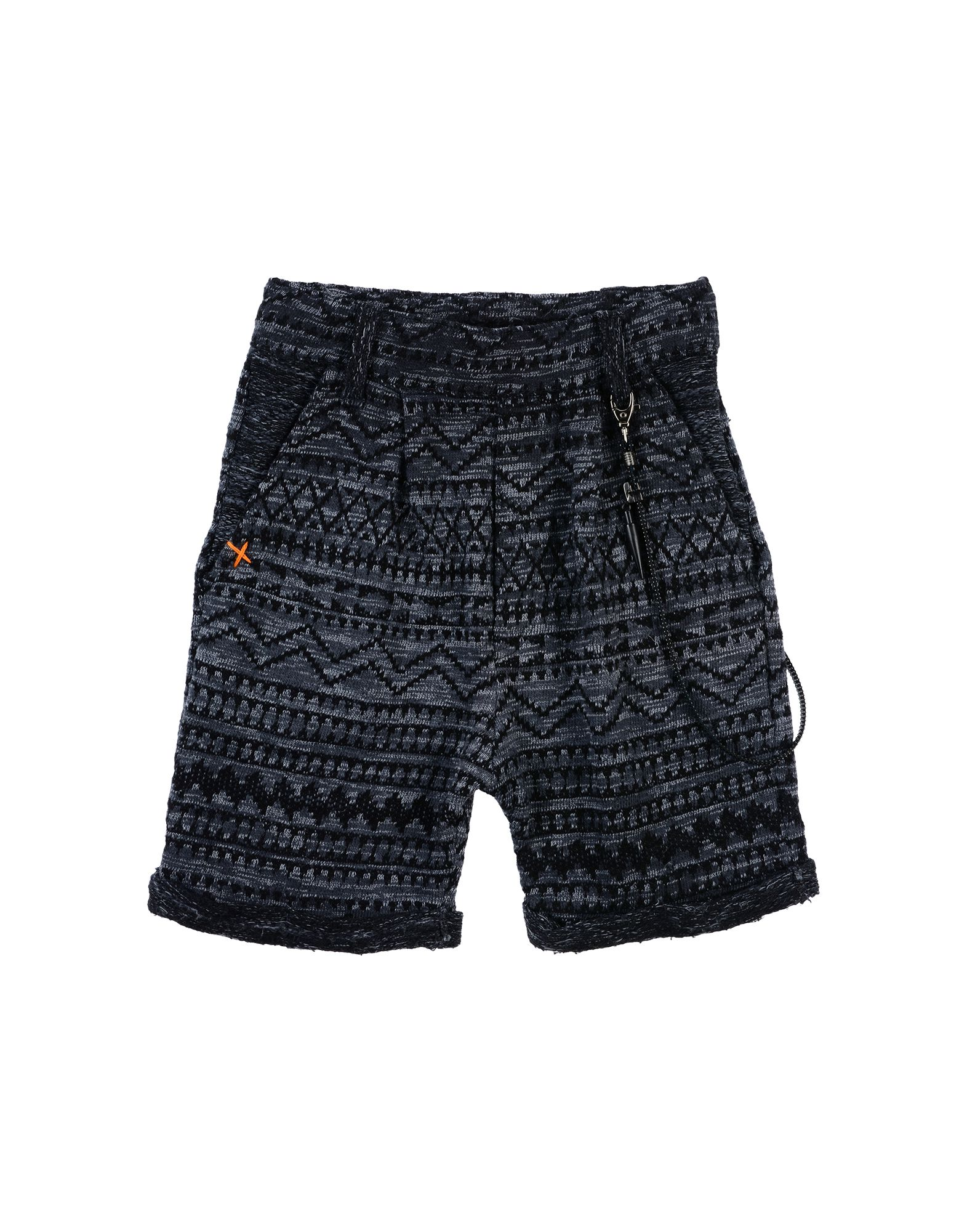 Chiodo Nail Kids' Bermudas In Black
