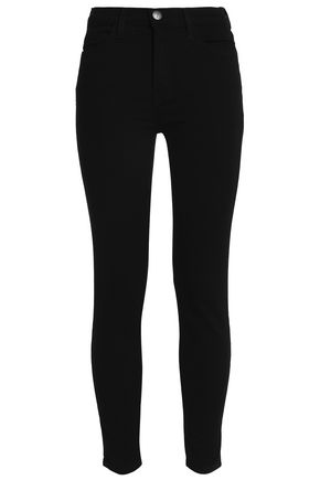 CURRENT/ELLIOTT High-rise skinny jeans