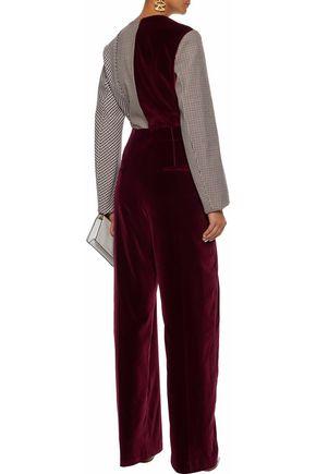 STELLA McCARTNEY Velvet wide-leg pants