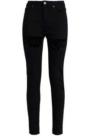ZOE KARSSEN High-rise skinny jeans