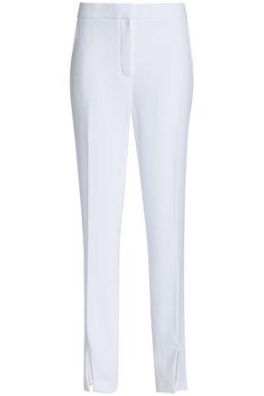 ELIE TAHARI Leena split-front crepe straight-leg pants