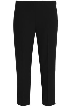 ELIE TAHARI Juliette cropped crepe tapered pants