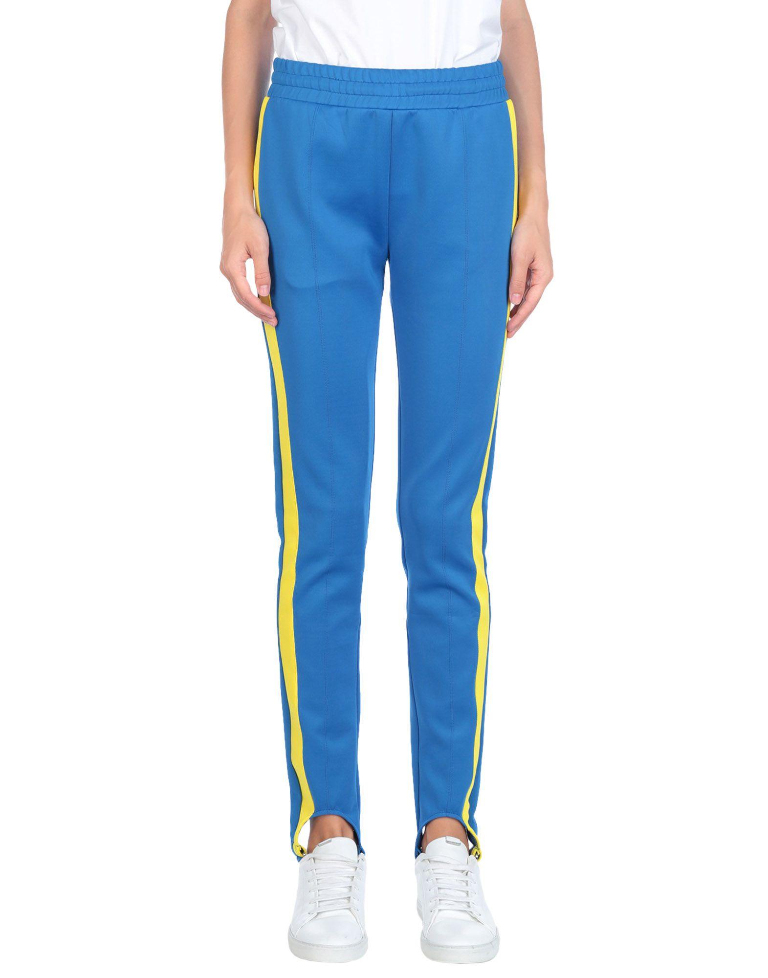 《送料無料》ROLLING ACID レディース パンツ ブルー L ポリエステル 100%